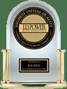 High ranked award